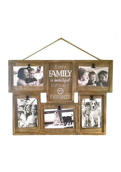 Fetco Home Decor Brinley Wall Art ~ Fetco home decor wall shadowbox clip collage family