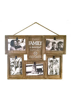 Fetco Home Decor Wall Shadowbox Clip Collage Family Favorite Roosevelt