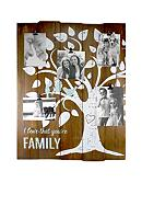 Fetco Home Decor Woodmere Family Tree 5-Clip Wall