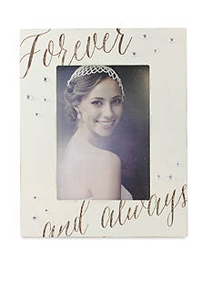 Fetco Home Decor Forever and Always 5-in. x 7-in. Frame