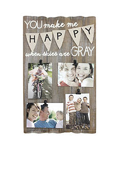 Fetco Home Decor You Make Me Happy When Skies are Gray Collage