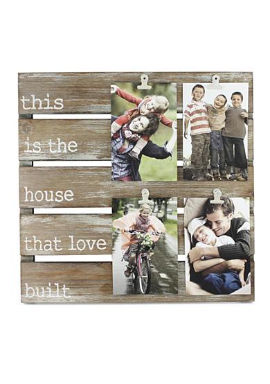 Fetco Home Decor House that Love Build Pallet Collage Belk