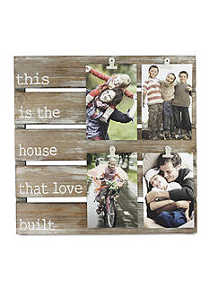 Fetco Home Decor House that Love Build Pallet Collage