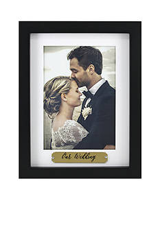 Fetco Home Decor Our Wedding 5x7 Frame