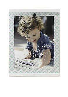 Fetco Home Decor Alferi Multi Dot Baby Clip 8x10 Frame