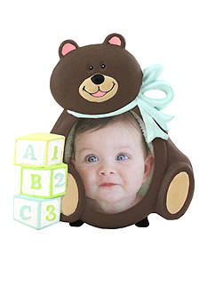 Fetco Home Decor It's A Boy 3x3 Bear Frame