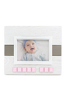 Fetco Home Decor 4x6 Lowrie Frame Sweet Pea - White and Pink