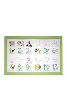 Fetco Home Decor Darling 12 Month Collage Frame