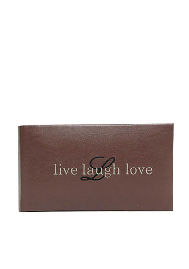 Fetco Home Decor Cleo Live Laugh Love Photo Album