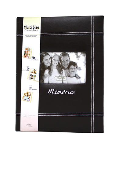 Fetco Home Decor Memories Varied Size Openings 9.5x13 Photo Album