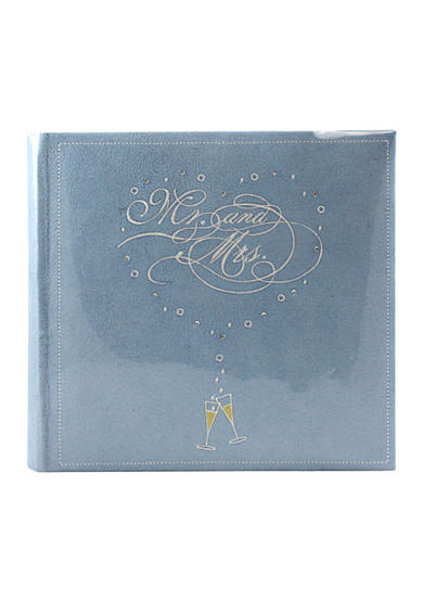 Fetco Home Decor Mr. and Mrs. 6x4 Album