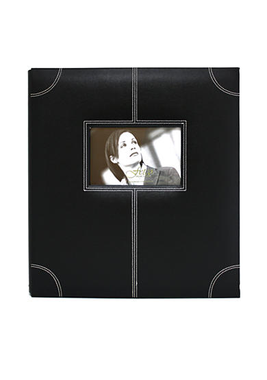 Fetco Home Decor Parkin Black 5-up Photo Album
