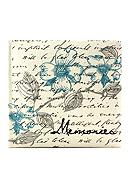 Fetco Home Decor Parisian Floral 2up 6x4 Album