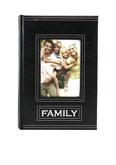 Fetco Home Decor Rosendale Family 3-up 4x6 Photo Album