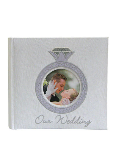 Fetco Home Decor Georgette Our Wedding 4x6 Album