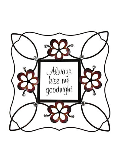 Fetco Home Decor Halle Always Kiss Me Goodnight Wall Decor