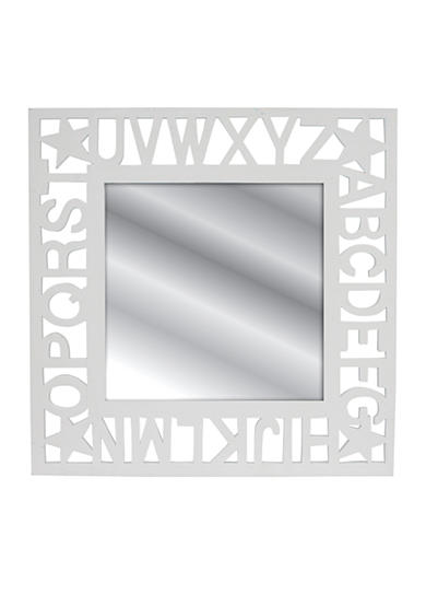Fetco Home Decor Carryn Alphabet Mirror Belk