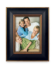 Malden Traditional Black and Gold 5x7 Frame