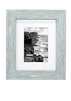 Malden International Designs Blue Distressed 5X7 Frame