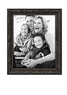 Malden Black Floral 8x10 Frame