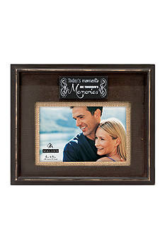 Malden International Designs Today's Moments 4x6 Frame