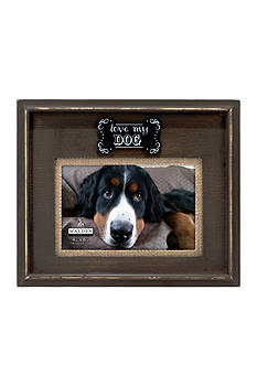 Malden Love my Dog Wooden 4x6 Frame