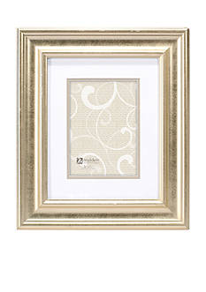 Malden Soft Gold Classic Double Matte Frame 5x7