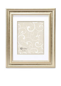 Malden Soft Gold Classic Double Matte Frame 8-in. x 10-in.