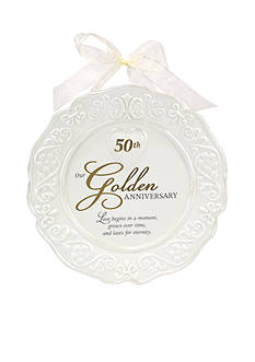Malden 50th Anniversary Plate