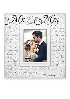 Malden Mr. & Mrs. Corinthians 5x7 Frame