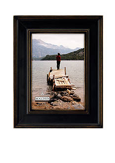 Malden International Designs Driftwood Slats Cream 5-in. x 7-in. Frame