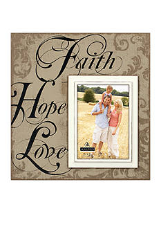 Malden Faith Hope and Love with 5-in. x 7-in. Frame