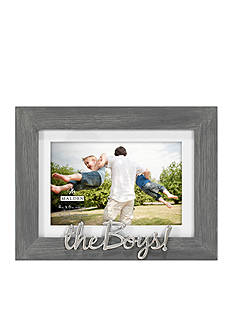 malden distressed sentiments gray the boys 4x6