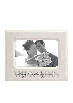 Malden Mr. and Mrs. 4 x 6 Frame