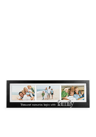 Malden 3-Opening Treasured Memories Begin With Family 4x6 Frame