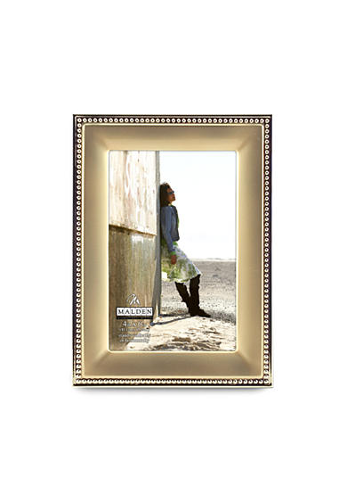 Malden Gold Metal Beaded 4x6 Frame
