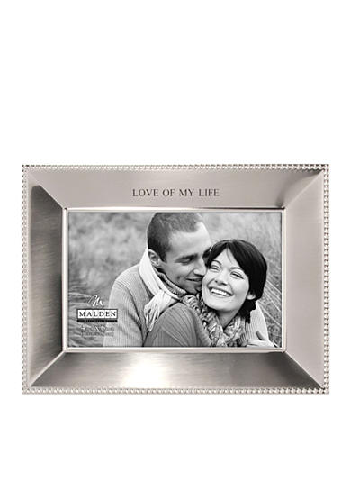Malden Simply Stated Love of My Life 4x6 Frame