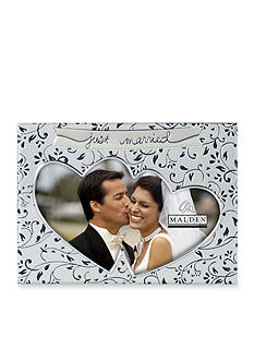 Malden Just Married 4x6 Frame
