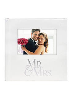 Malden 2-up Mr. & Mrs. 4x6 Photo Album