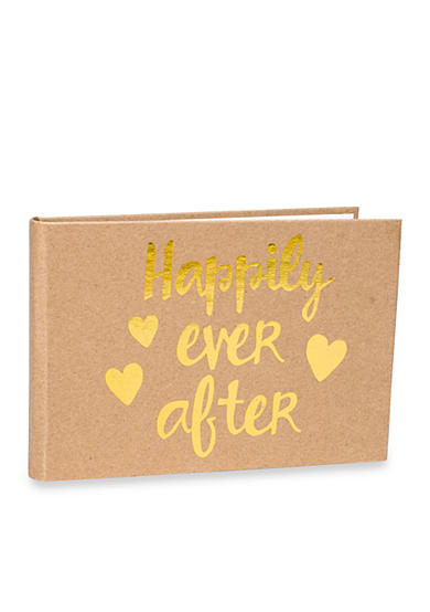 Malden 1-up Happily Ever After 4x6 Photo Album