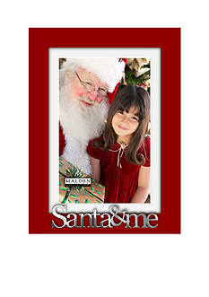 Malden International Designs Santa & Me 4x6 Frame