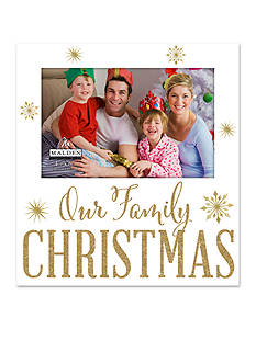 Malden International Designs Our Family Christmas 4x6 Frame