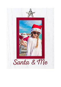Malden International Designs Santa and Me Starfish 4x6 Frame