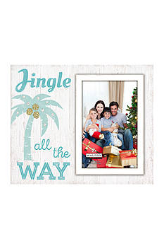 Malden International Designs Jingle All the Way Palm Tree Sign