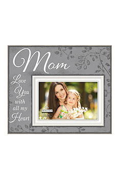 Malden Mom Love you With All My Heart Sunwash Gray Frame