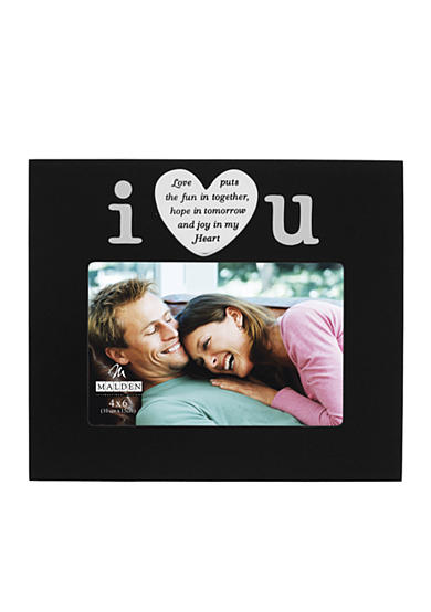 Malden I Love You 4x6 Frame