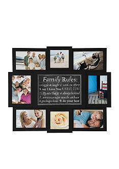 Malden Family Rules Collage Frame