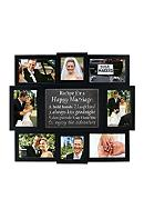 Malden Happy Marriage Recipe 4x6 Photo Wall