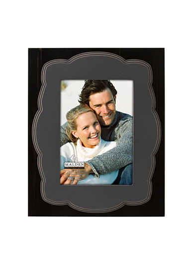 Malden Breckenridge Black Raised 5x7 Frame