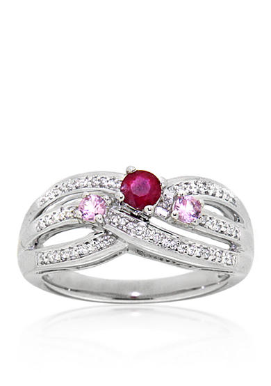 Fine jewelry pink rings belk for Belk fine jewelry rings